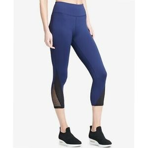 NEW DKNY Sport Hi-Waist Crop Athletic Leggings